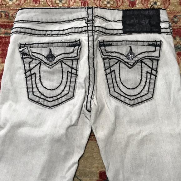 rag & bone Denim - True Religion slim skinny julie design grey jeans